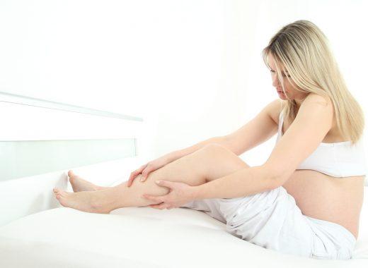 Prevenir edemas en el embarazo