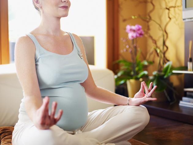 Beneficios yoga en el embarazo