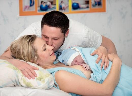 En casa después del parto