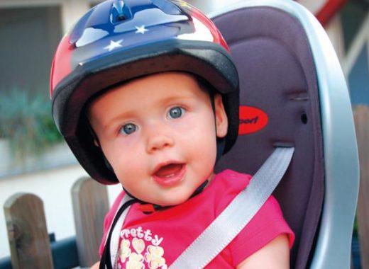 Excursión bicicleta bebé