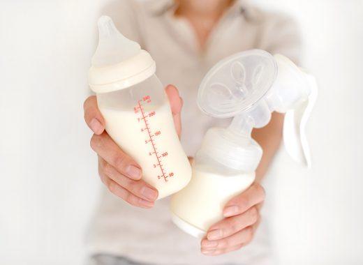 como conservar la leche materna