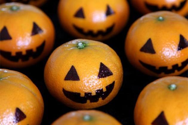 calabazas de mandarian Halloween