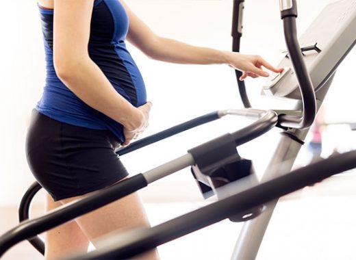 caminar en el embarazo