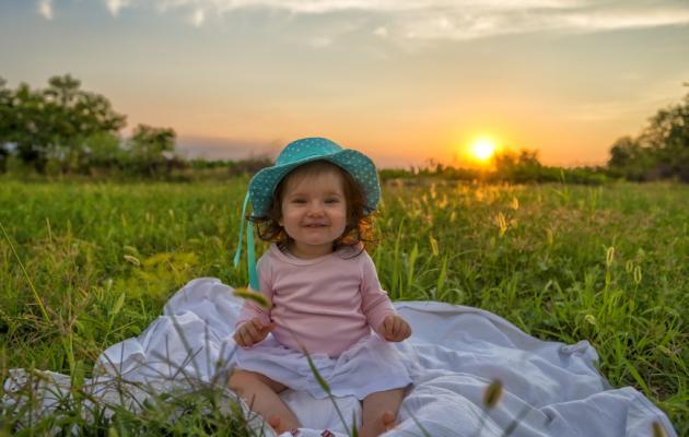 juegos bebé al aire libre