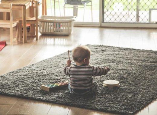Poderes de la música en el cerebro del bebé