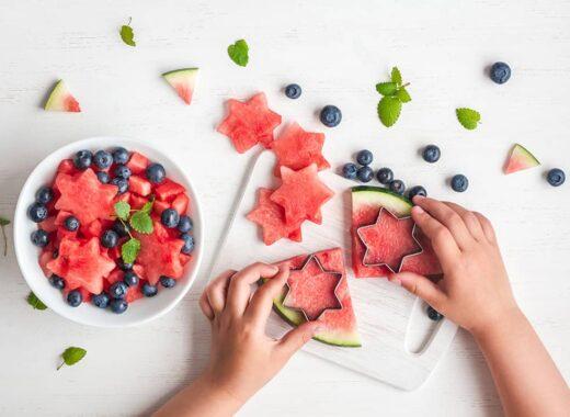 como hacer que los ninos coman fruta