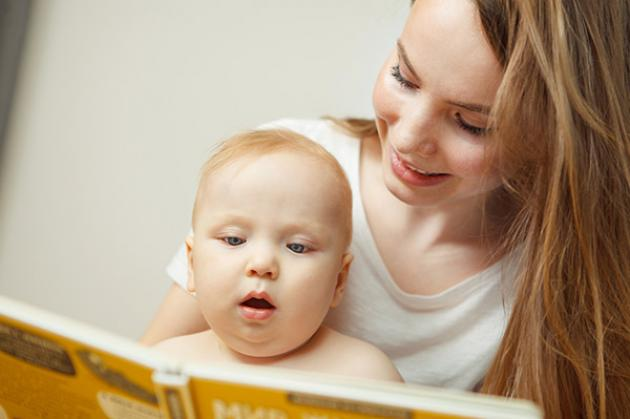 Leer a tu hijo desde bebé