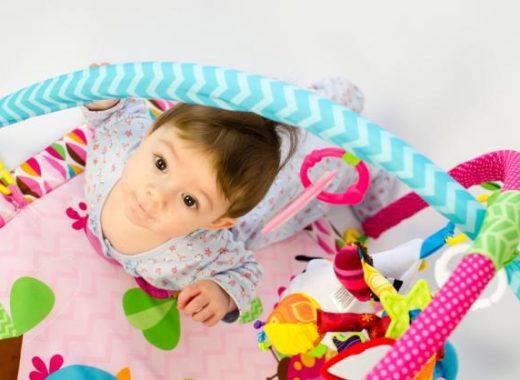 Manta actividades bebé