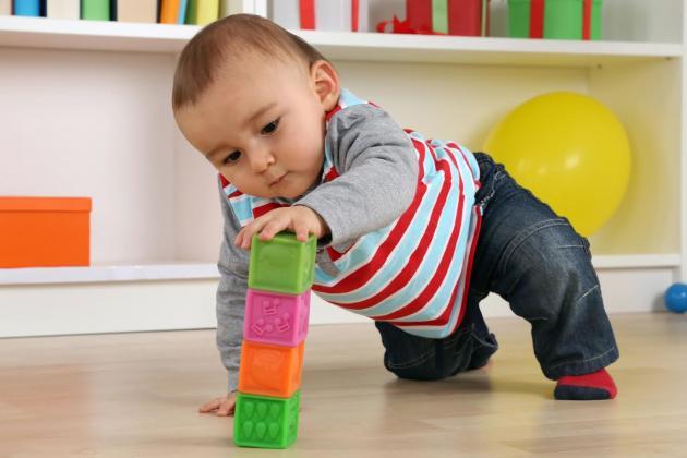 Juguetes caseros bebé