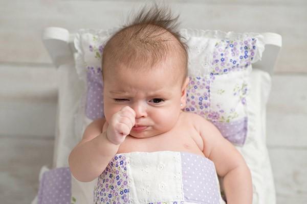 lanugo del bebé