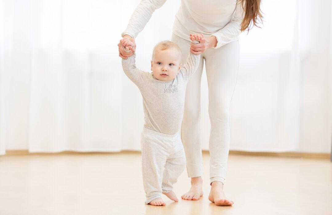 cuando camina un bebe