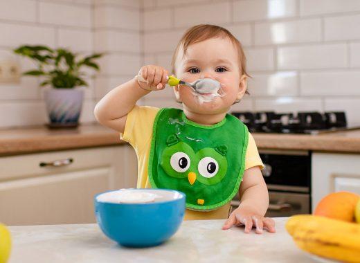 aprender a comer bebes