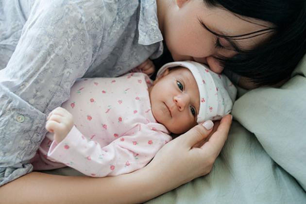 ff52be23d Se puede enseñar a dormir a un recién nacido