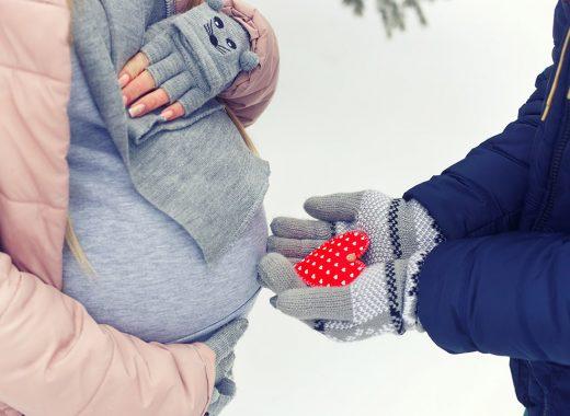 mejores regalos para embarazada en San Valentin