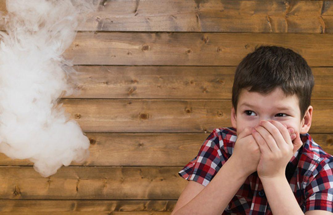 ¿Cómo afecta el tabaco a bebés y niños?