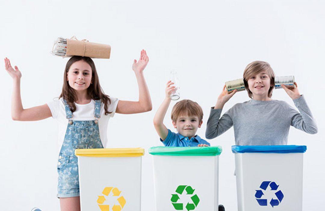 Cómo enseñar a tu hijo a reciclar