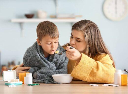 alimentos para los resfriados en ninos