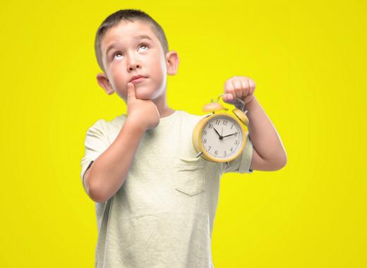 nocion tiempo niños