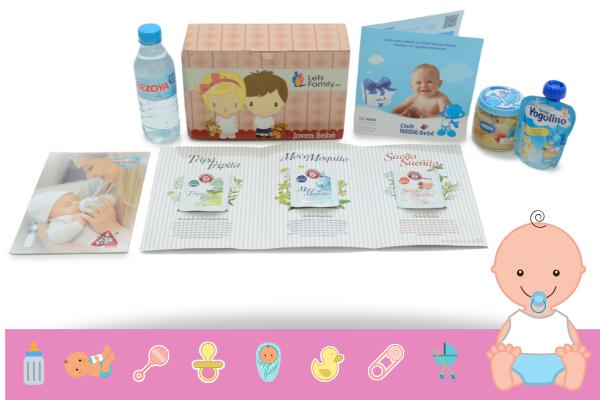 Canastillas Gratis bebe.Muestras gratis para el bebé Letsfamily.es