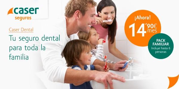 Caser: Seguro dental para toda la familia