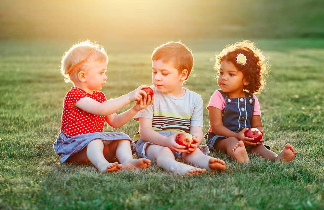 ensenar a los ninos a compartir