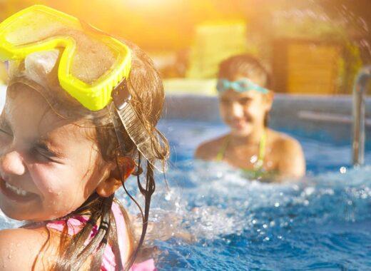 juegos en la piscina por edades