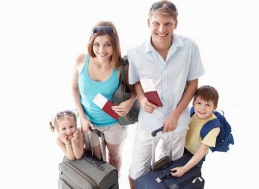 preparar viaje familiar