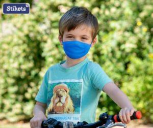 mascarilla antivirus para niños