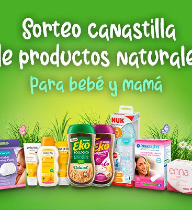 Canastilla natural bebé