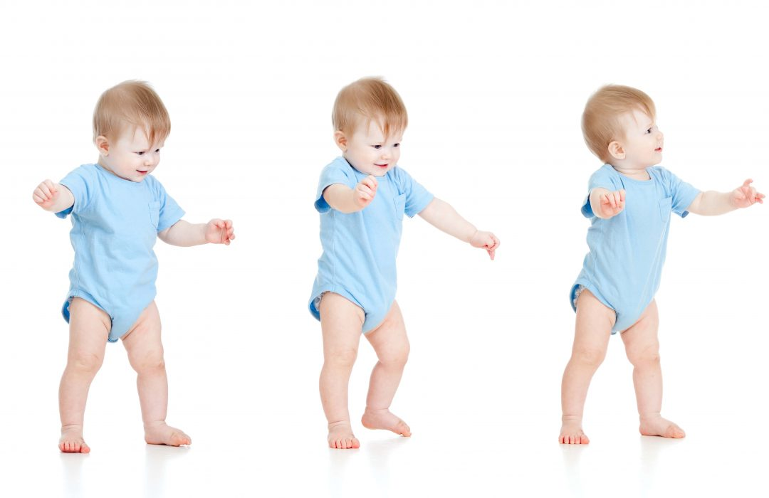aprender a caminar bebe