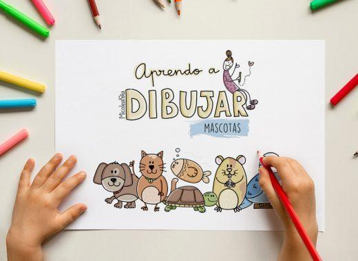 aprender a dibujar animales y mascotas