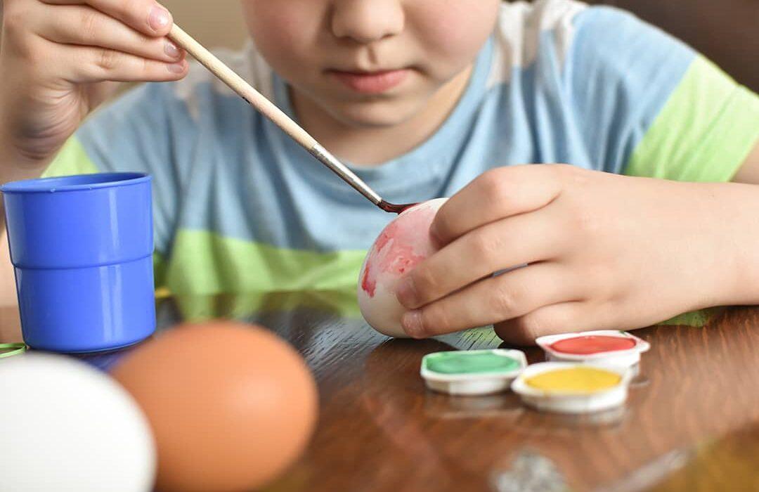 como hacer huevos de pascua y otras manualidades