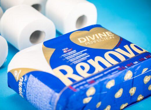 Divine papel higienico