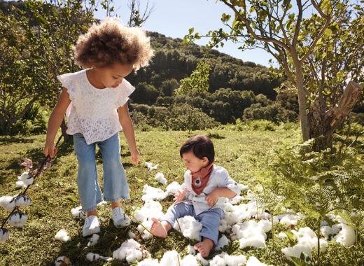 ropa de algodon organico para el bebe