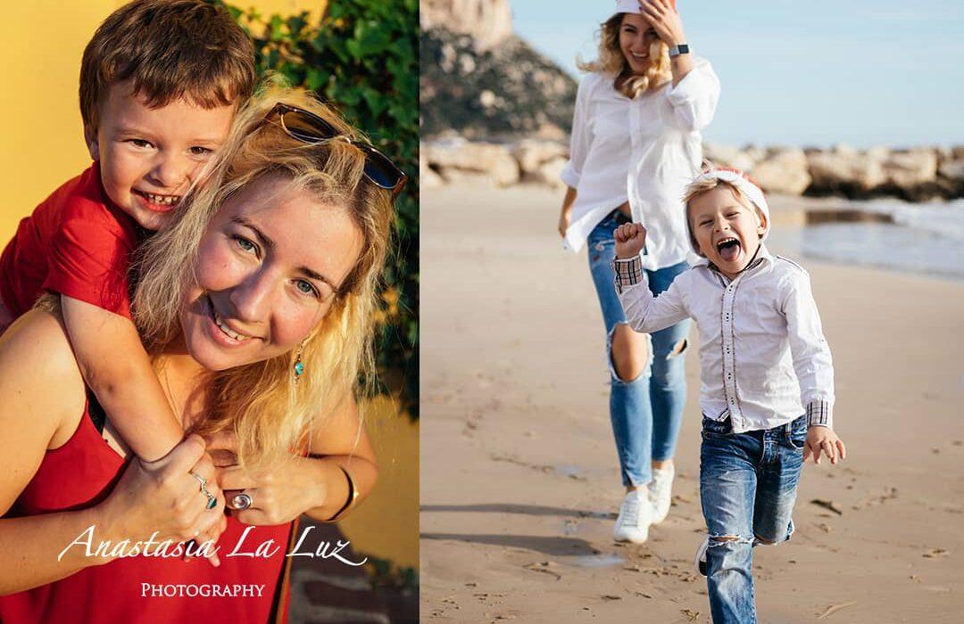 proyecto fotografico sobre familias de Anastasia La Luz